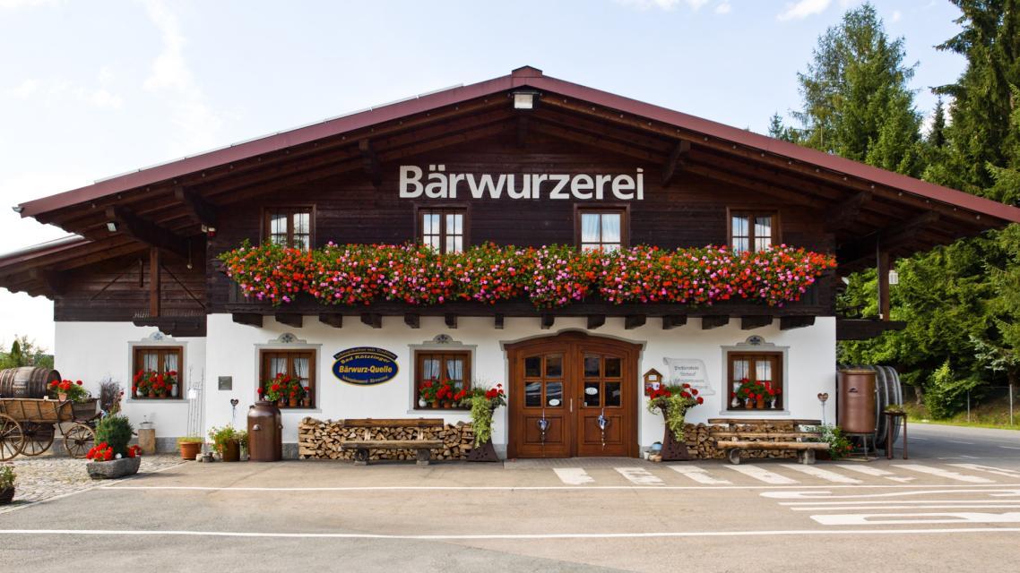 Bad Kötztinger Bärwurz-Quelle / Schnapsbrennerei-Bärwurzerei