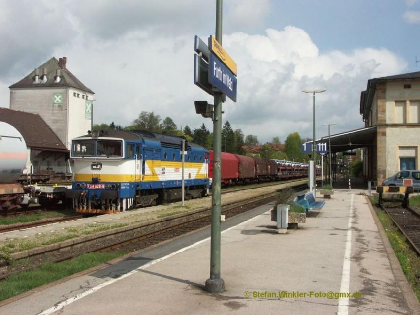 Bahnhof Furth im Wald