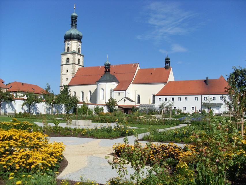 Klostergarten der Franziskaner