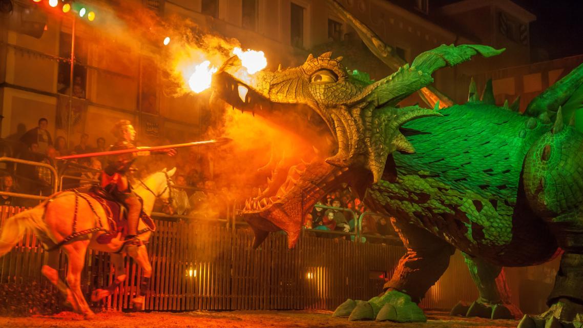 Drachenstich-Festspiele