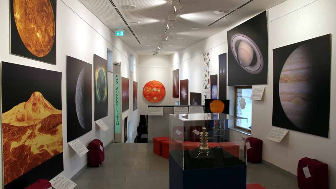 Ausstellung: Faszination Universum - Eine Reise durch Raum und Zeit