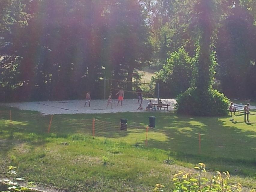 Beachvolleyball Drachensee-Freibad