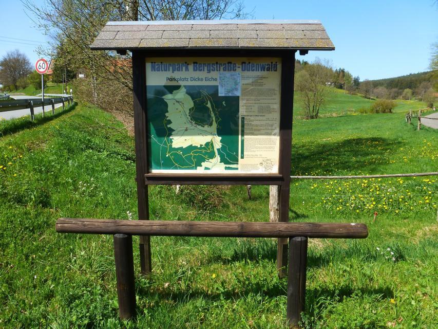 Naturpark-Parkplatz Dicke Eiche