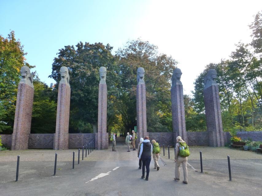 Darmstadt, Eingang Park Rosenhoehe