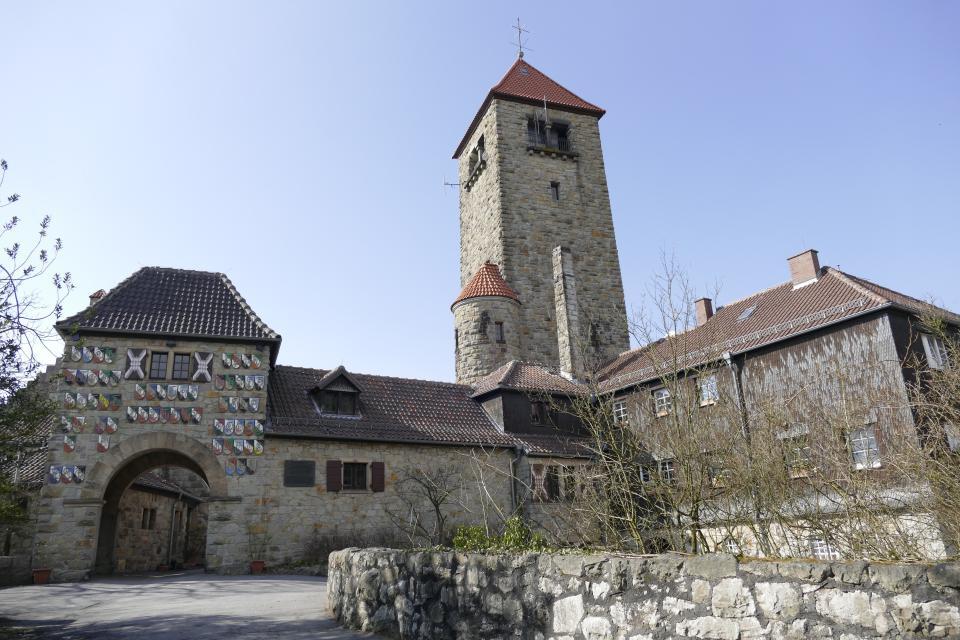 Innenhof der Wachenburg