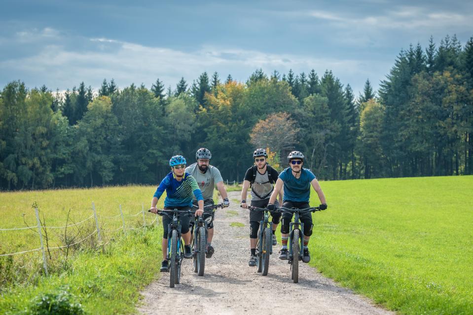 Mountainbike-Rundstrecke Hammelbach