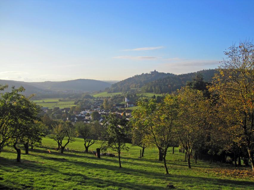 Landschaft um Breuberg