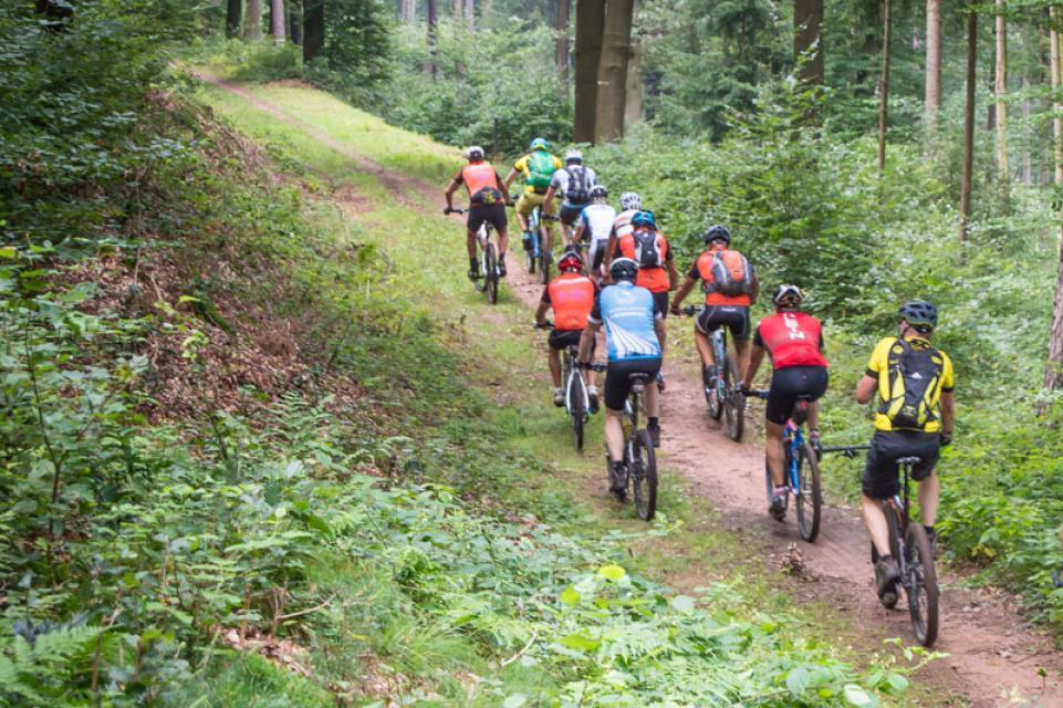 Mountainbike-Rundstrecke Breuberg 2