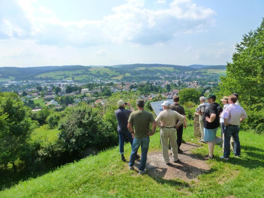 Panoramablick vom Hermannstempel