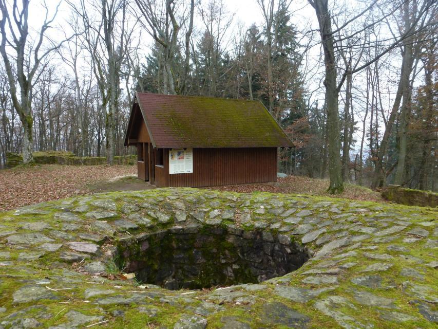 Burgruine Schnellerts, Turmreste