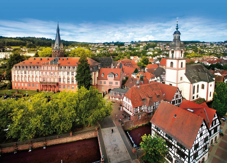 Schloss und Altstadt Erbach