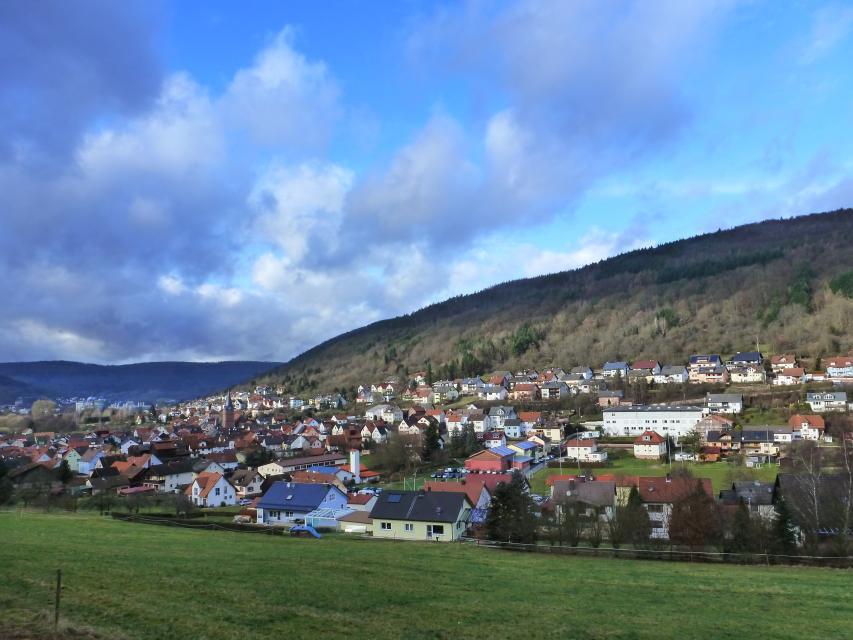 Schneeberg im Odenwald