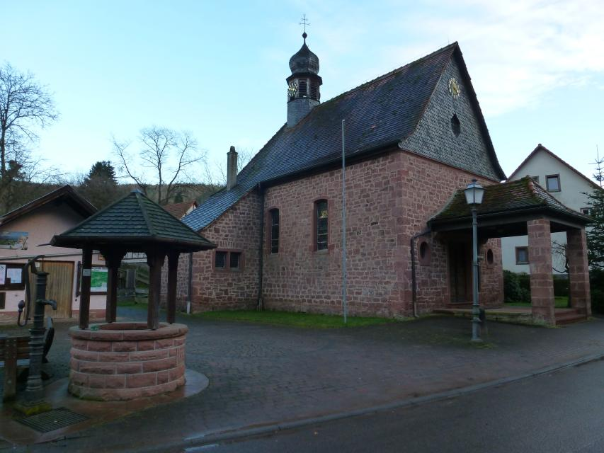 Kirche in Zittenfelden
