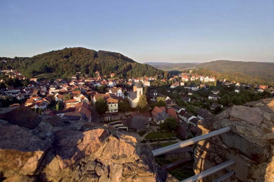 Ausblick von Burg Lindenfels