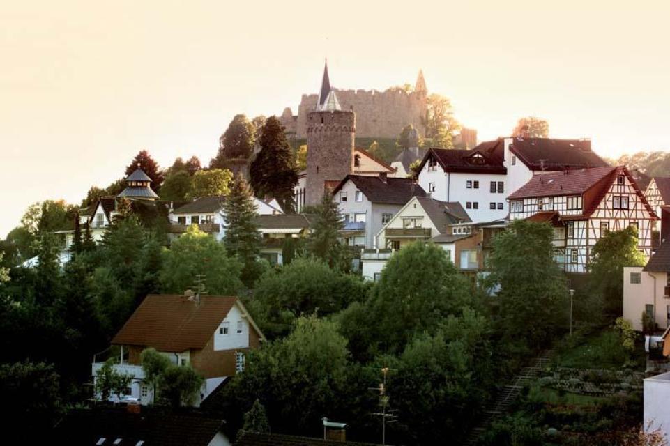 Lindenfels mit Burg