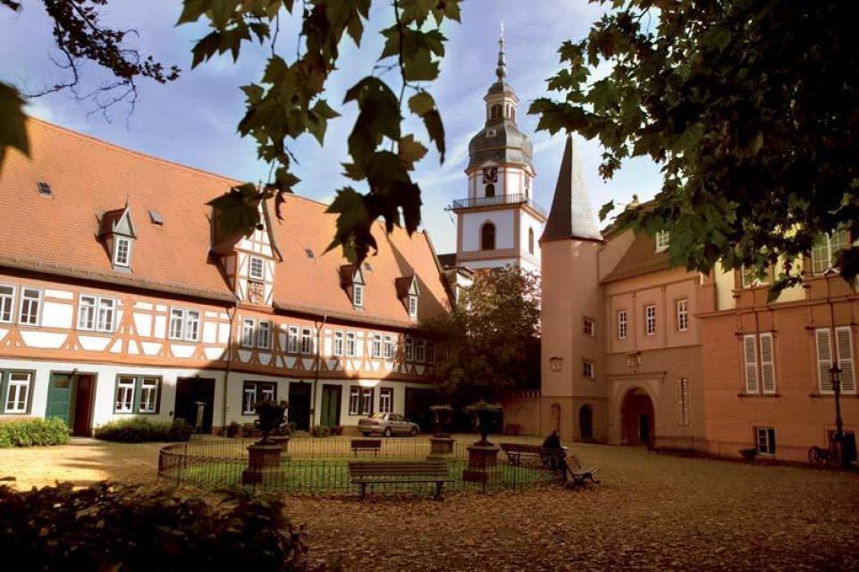 Schlosshof Erbacher Schloss