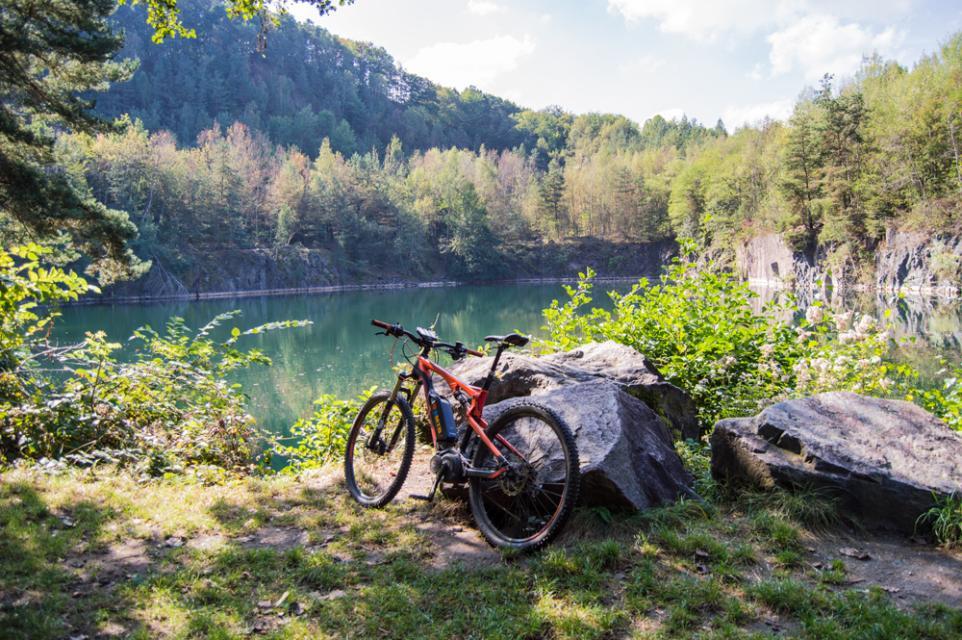 Mountainbike-Rundstrecke Fischbachtal