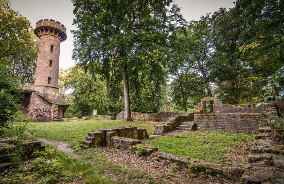 Stephanskloster auf dem Heiligenberg Heidelberg