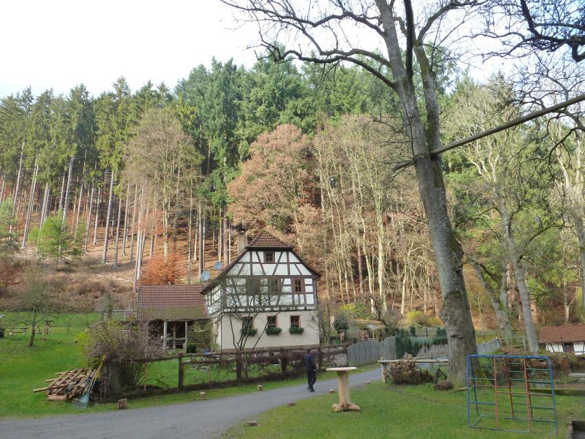 Gehöft in Brunnthal