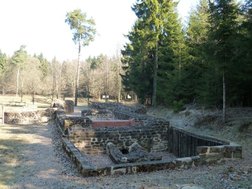Odenwaldlimes Römerbad Würzberg