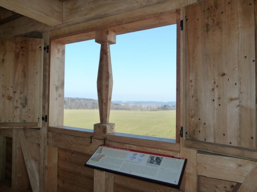 Odenwaldlimes Wachtposten 10-15_Wachturm