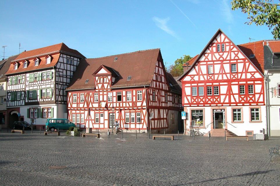 Fachwerkhaeuser in Gross Umstadt