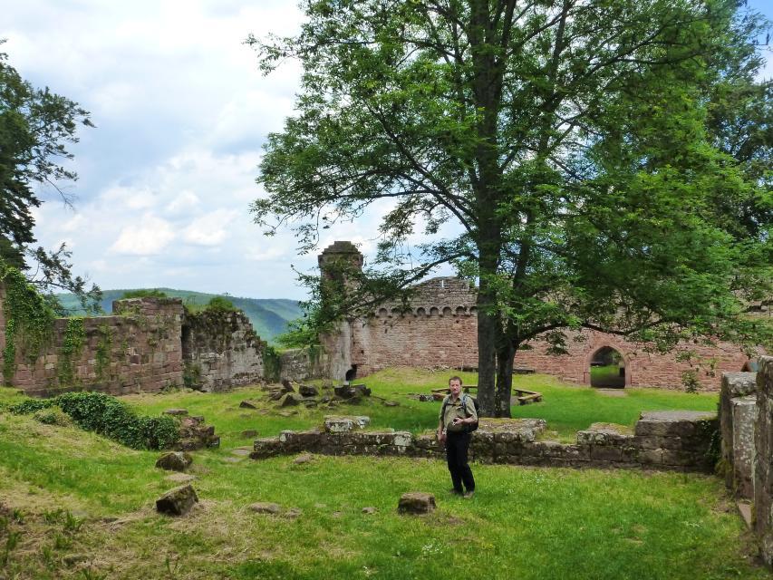 Innenhof Burg Wildenberg