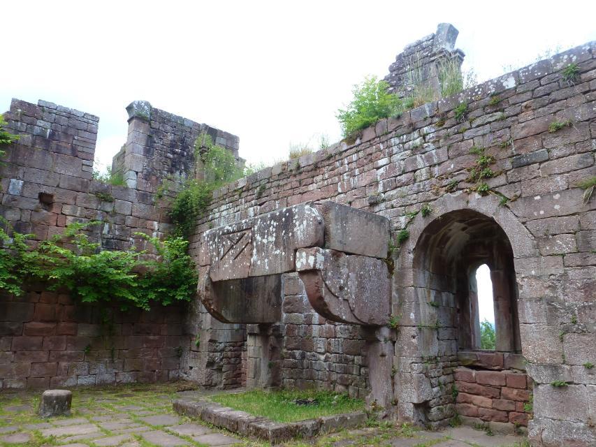 Kamin Burg Wildenberg
