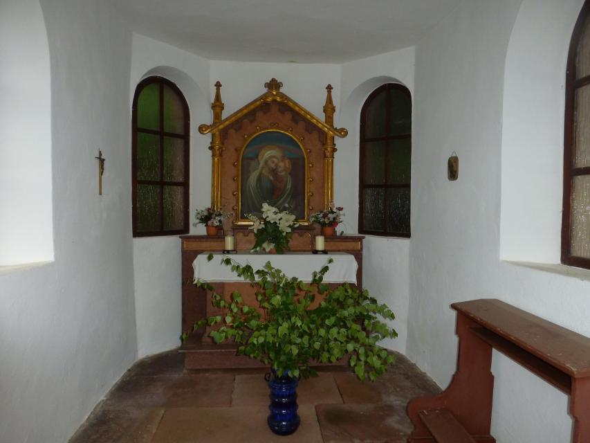 Innenraum Kapelle Kirchzell