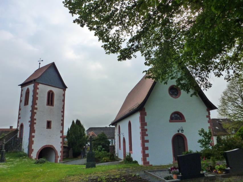 Wehrkirche Wersau Innenhof
