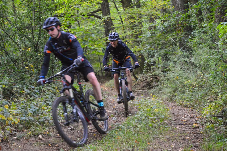 Mountainbike-Rundstrecke Brensbach-Wersau