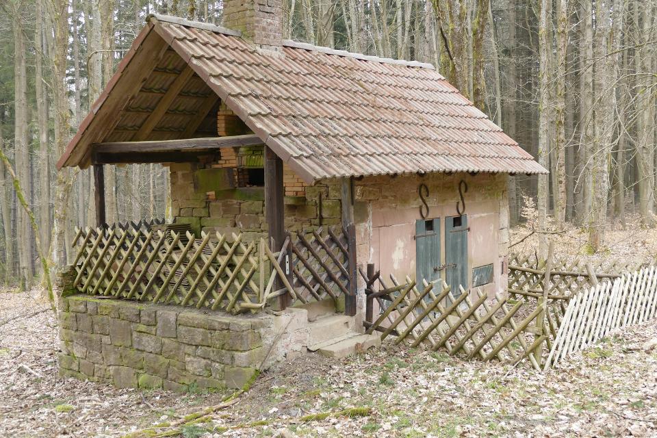 Backhaus und Stall