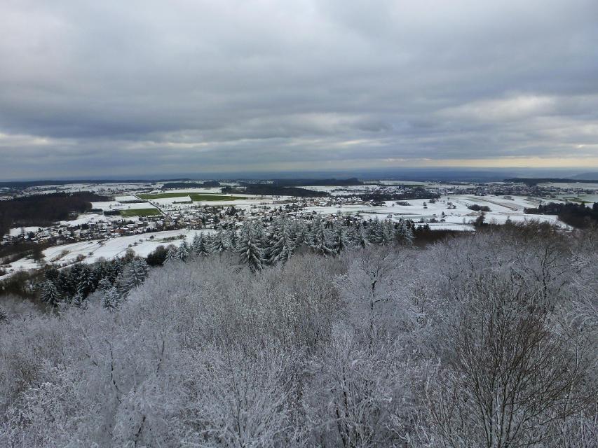 Blick auf Waldbrunn