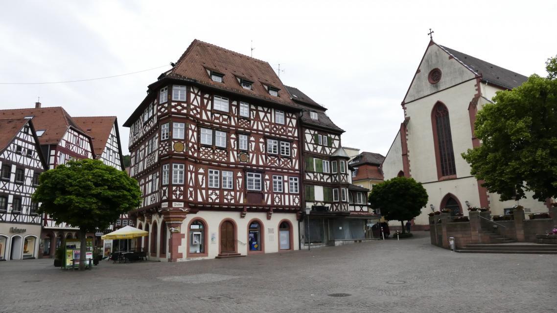 Mosbach Altstadt