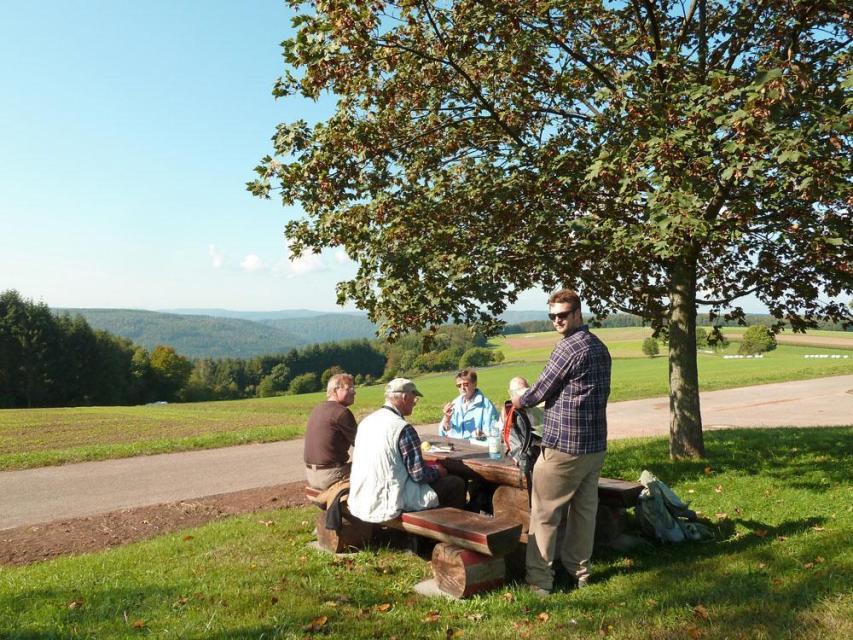 Picknickplatz auf der Neudorfer Höhe
