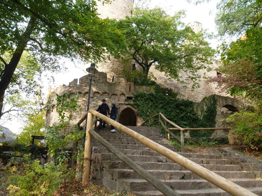 Aufgang zum Auerbacher Schloss