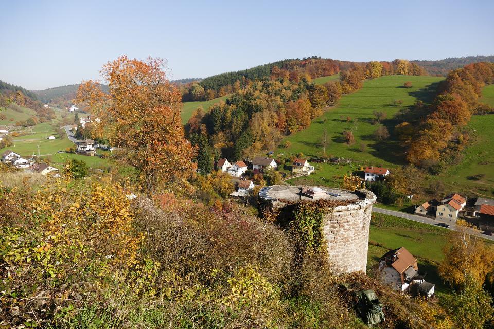 Blick von der Burg Freienstein