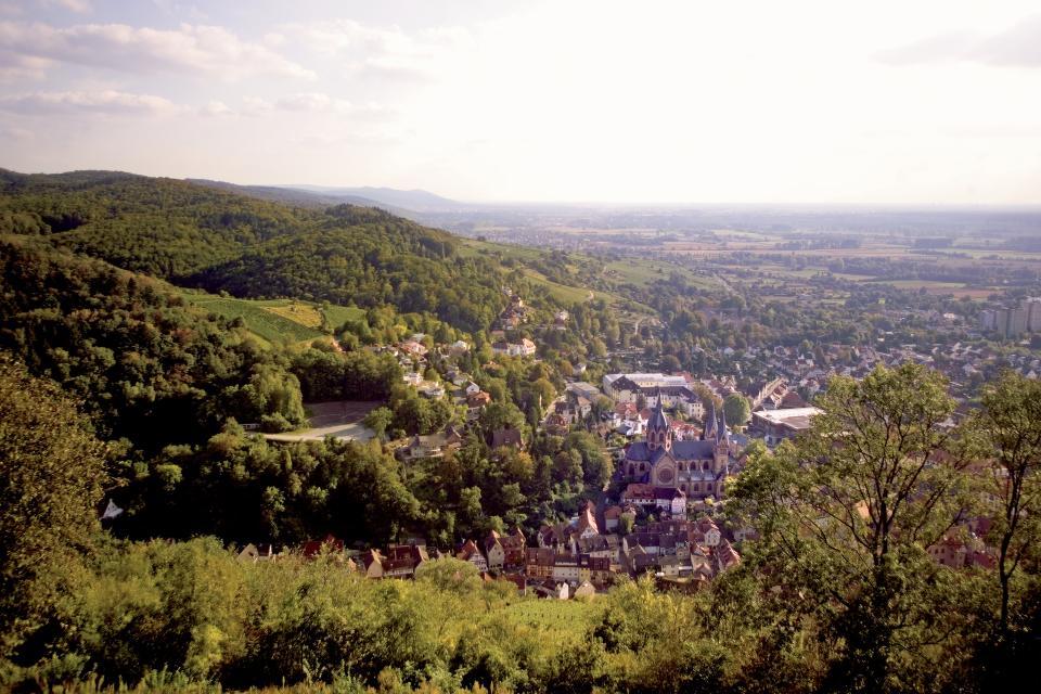 Starkenburg Aussicht