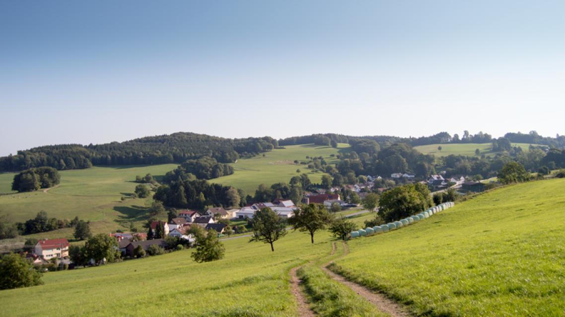 Mountainbike-Rundstrecke Abtsteinach