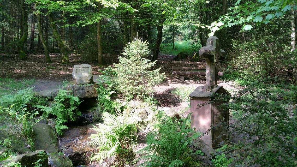 Siegfriedbrunnen Grasellenbach