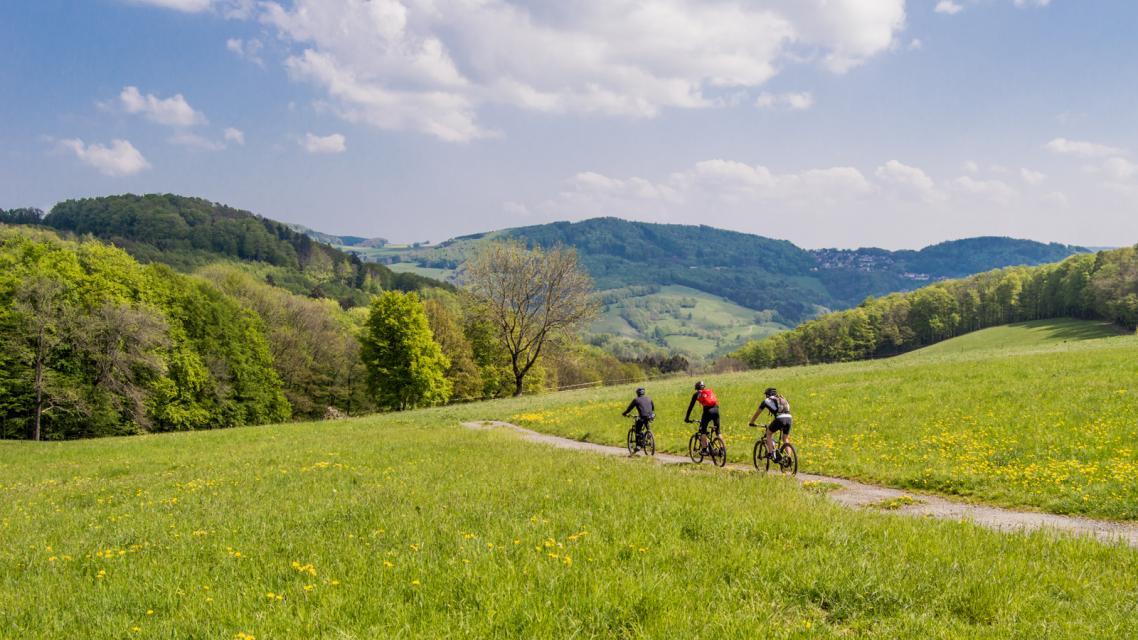 Mountainbike-Rundstrecke Lindenfels