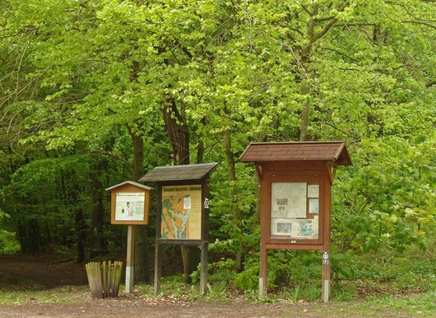 Naturpark Parkplatz Waldsee