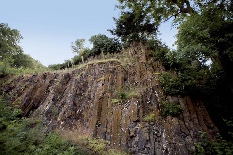 Basaltsäulen am Otzberg