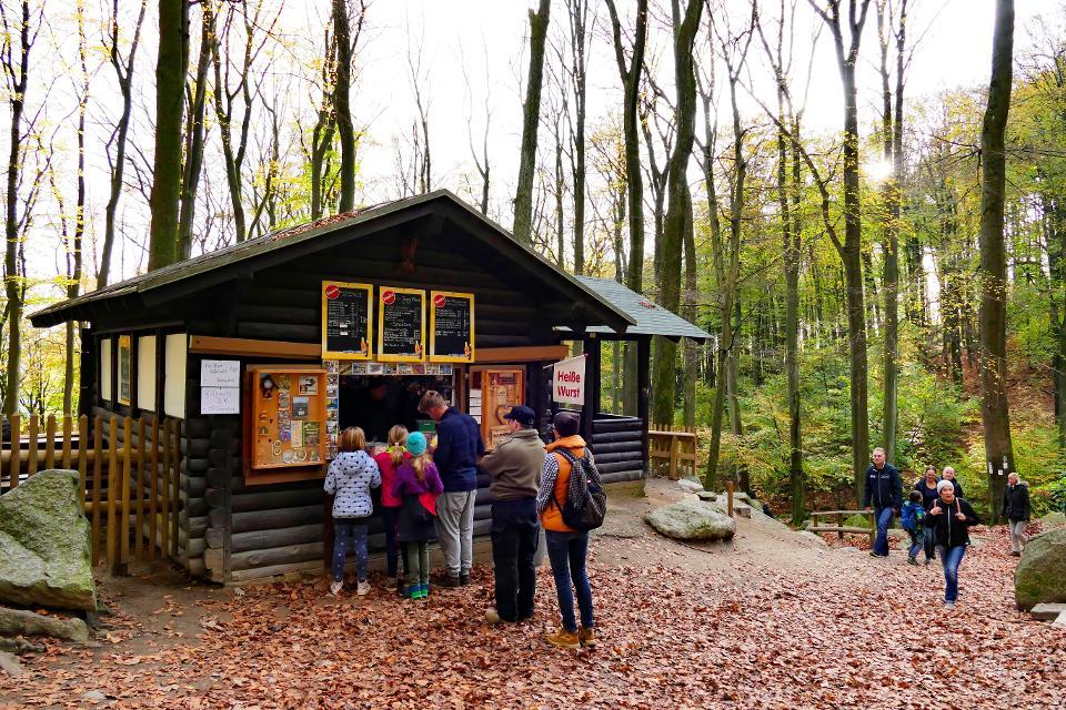 Kiosk im Felsenmeer