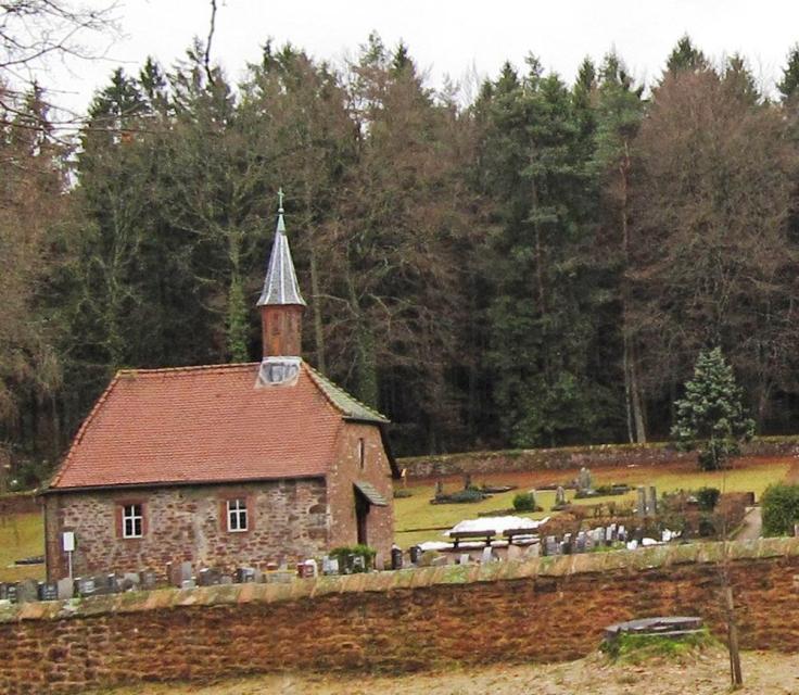 Kapelle Waldfriedhof Sensbacher Höhe