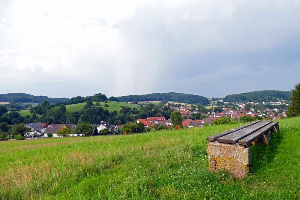 Mountainbike-Rundstrecke Modautal