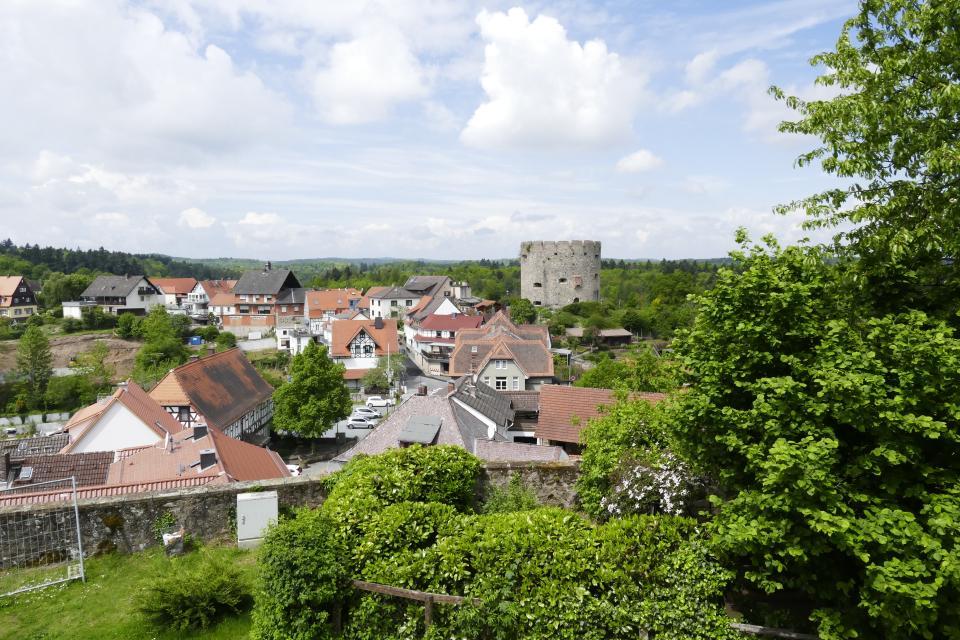 Blick auf Lichtenberg