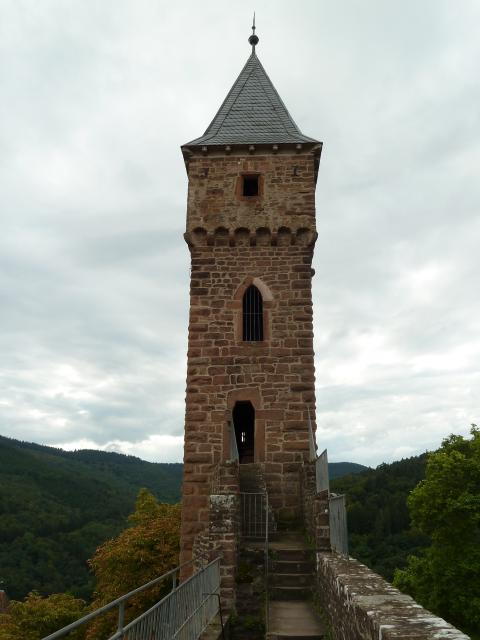 Turm Schloss Hirschhorn