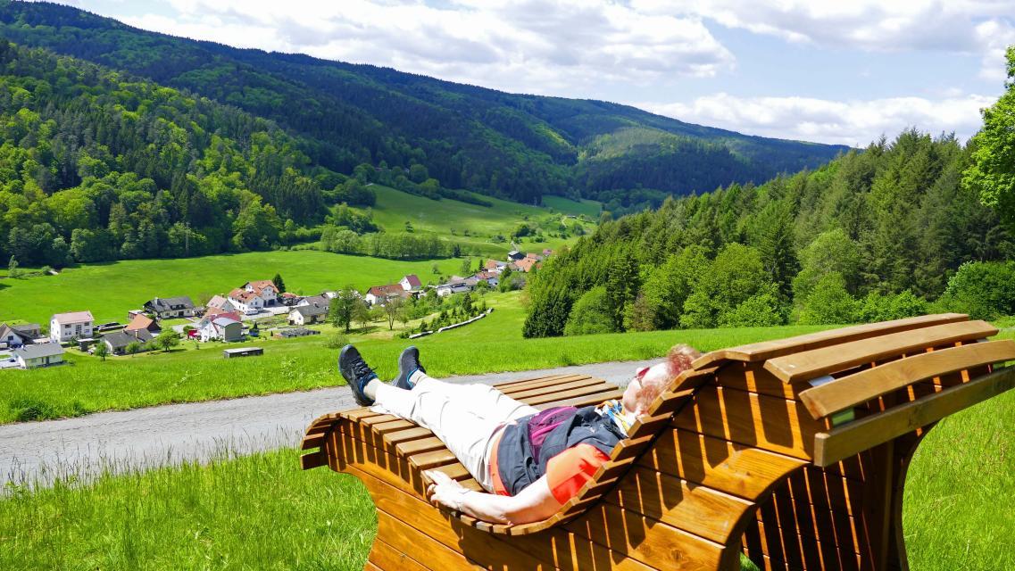 Panoramaliege Finkenbachtal