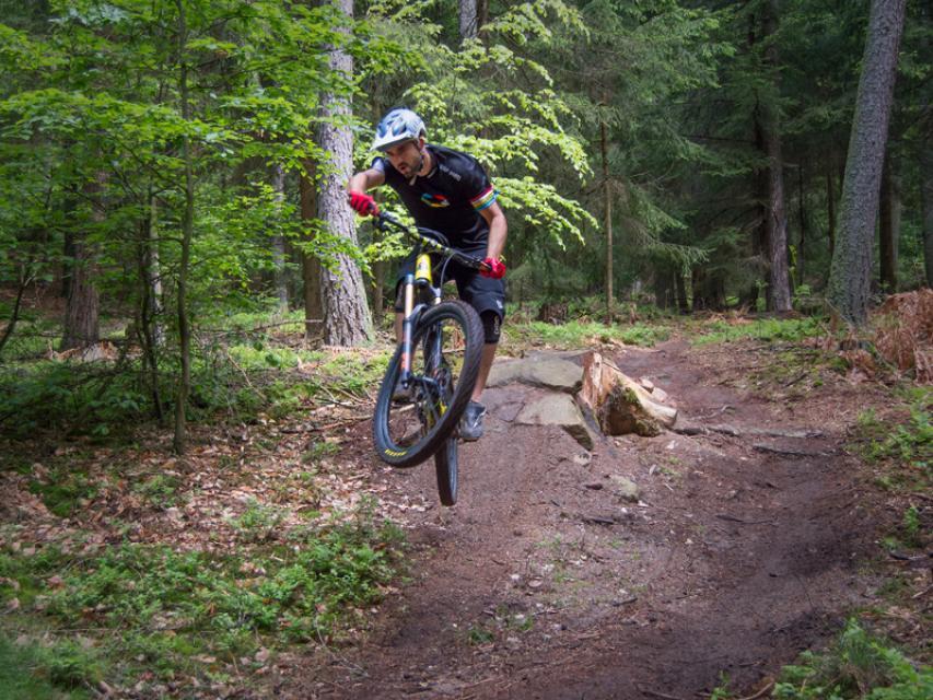 Mountainbike-Rundstrecke Michelstadt